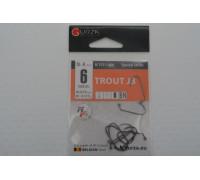 Крючки Gurza офсетные Trout J3 № 6 BN
