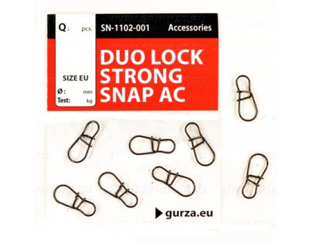 Карабин Gurza Duo Snap Lock Strong Snap AC №1