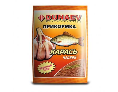 Прикормка Dunaev классика Карась чеснок 0,9кг