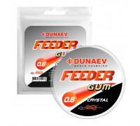 Фидергам Dunaev Feeder gum Clear 0.6 мм.