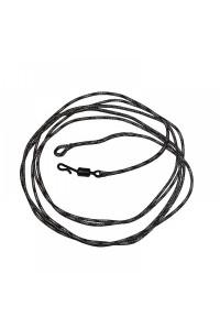 Лидкор Shaman со свинц. сердеч. вертлюг быстросём. 90 см. 5 шт/уп