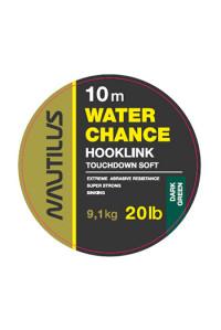 Поводковый Nautilus материал Water Chance 20lb 10м Dark Green