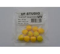 Груз UF Studio Капля эксцентрик 10 гр. жёлтый UV