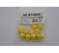 Груз UF Studio Капля эксцентрик 12 гр. жёлтый UV