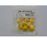 Груз UF Studio Капля эксцентрик 16 гр. жёлтый UV