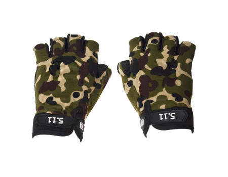 Перчатки China без пальцев 1012  +5.11