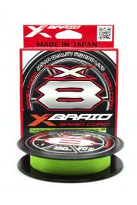 Шнур YGK X-BRAID Cord X8 Chart. /150m 0.90 мм. (#0.3/8lb(3,6 кг.)