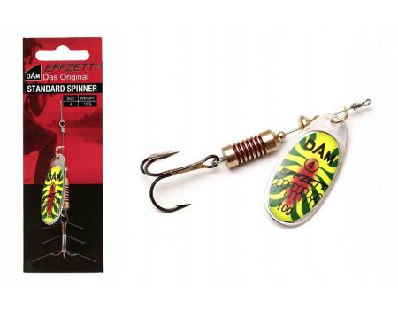 Блесна DAM Effzett Standart Spinner 10 гр. #4 - Fire Shark 60528