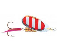 Блесна DAM Effzett Standart Spinner 10 гр. #4 - Stripe 5121104