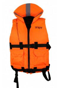 Жилет Elemental спасательный Ifrit оранж. XXL до 130 кг. ЖС-406