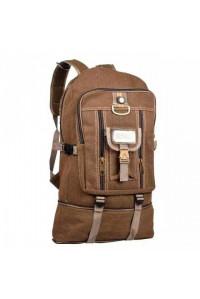 Рюкзак Sport брезент коричневый 50 л.