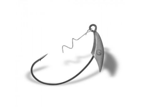 Крючки Gurza-Yoke Swim Bait (W) BN № 2/0 + 9.0г (3шт/уп) KJ-0309-200