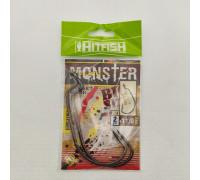 Крючок HITFISH офсетный Monster Offset №11/0